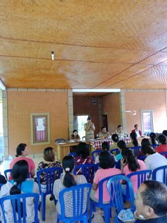 Pembinaan Tim Pendamping Evaluasi Perkembangan Desa Tahun 2019