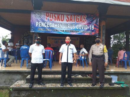 Penyerahan Bantuan  Langsung Tunai (BLT-DD) Desa Gitgit Tahap I